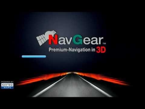 installation for NavGear car igo gps navigation map software android