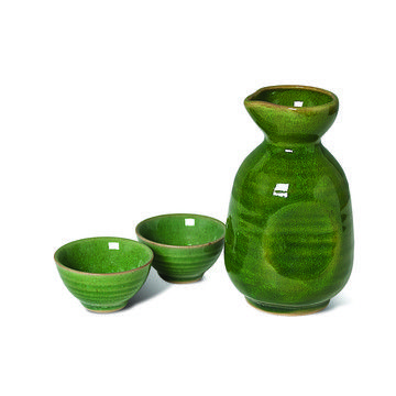 Kanyuu Sake Set Green, $21, now featured on Fab.