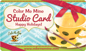 Color Me Mine - Gift Cards