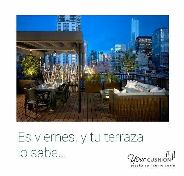 Terrazas de verano.  www.yourcushion.es