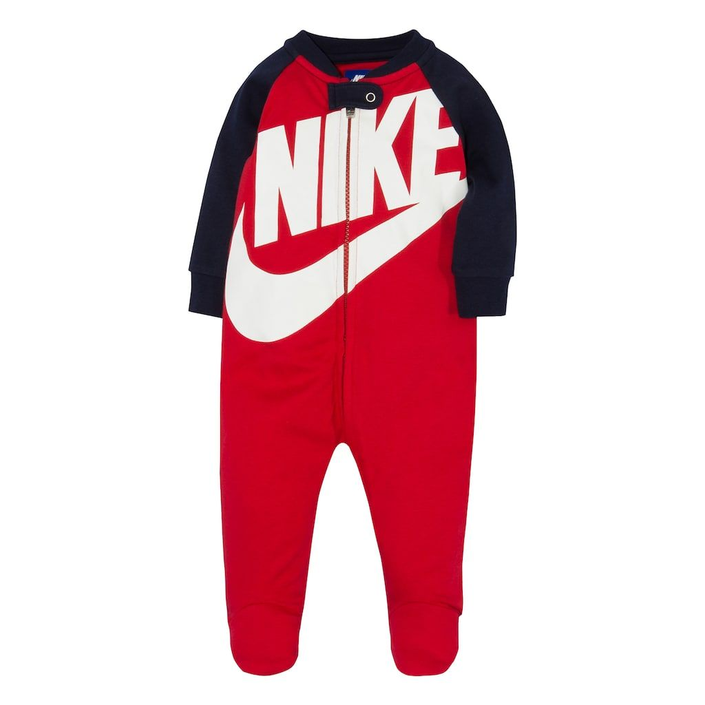 7fcbd8e6a Baby Boy Nike Futura Footed Coverall | Products | Baby boy nike ...