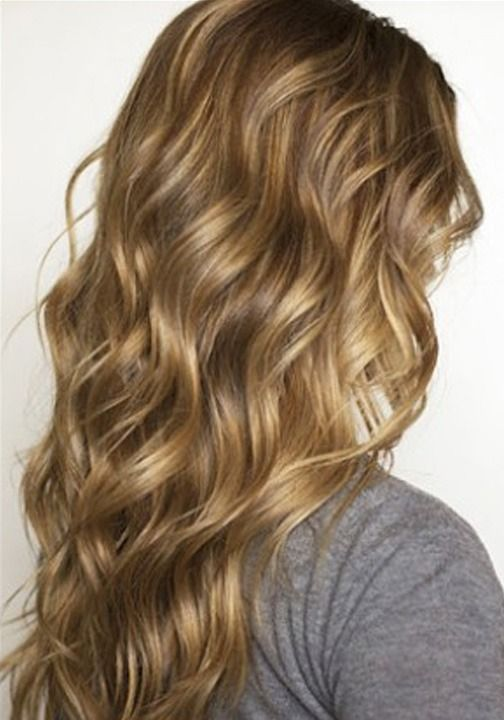 For a casual look – go for beachy waves! LOVE this for color, shine, waves!!!
