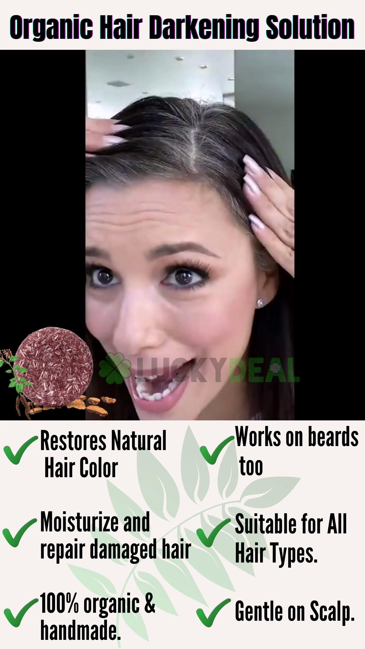😲🌿A natural way to get rid of your grey hair🌿 Spec