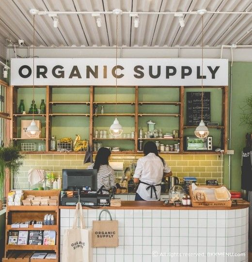 organic supply wwwbkkmenucom cafe coffee shop