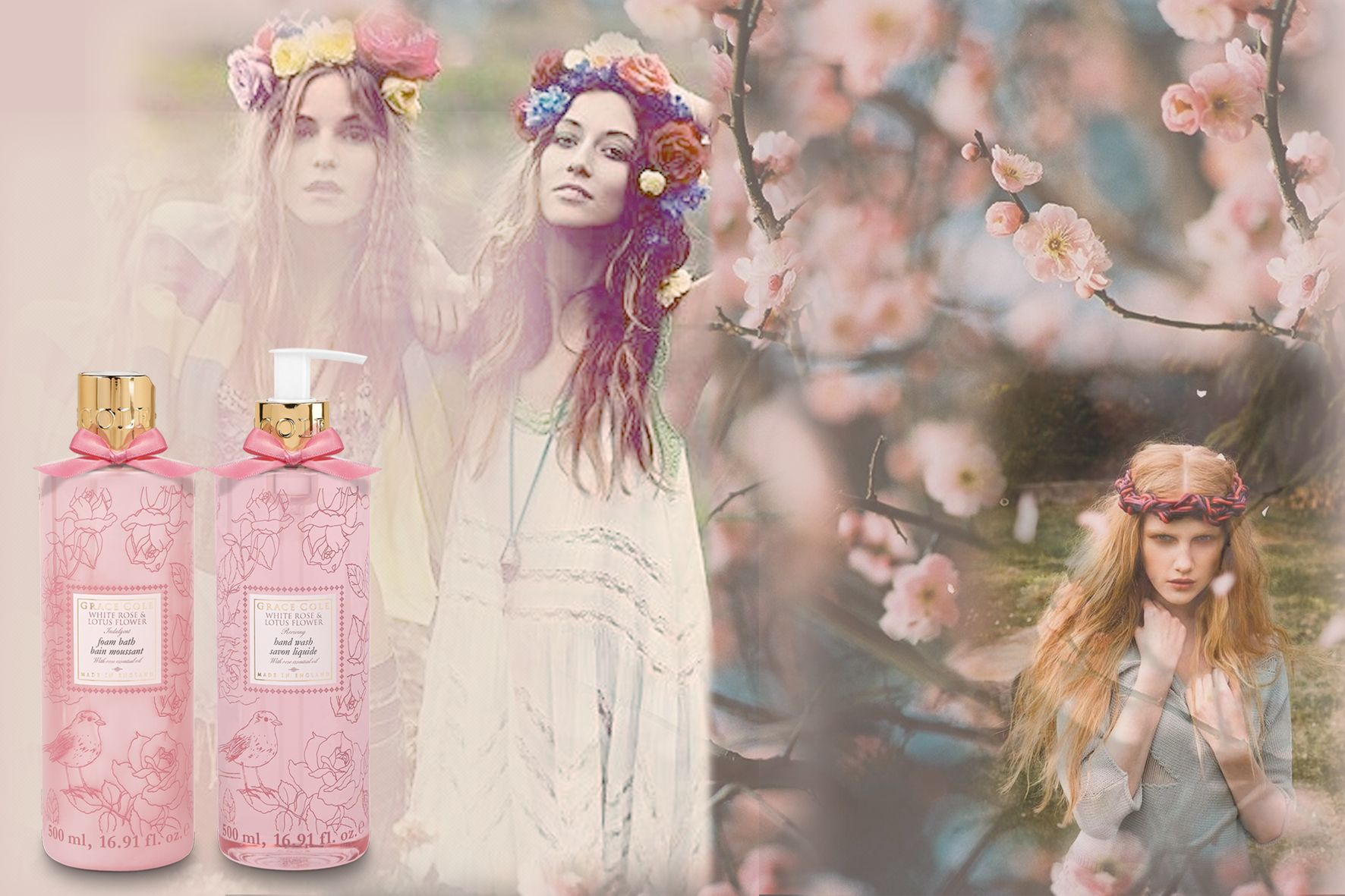 Have you tried our Floral Collection yet? This exquisite collection is definitely one to try, relax, unwind and enjoy our beautifully feminine florals in a range of marvellous scents. Love the Grace Cole team. X   http://www.gracecole.co.uk/index.php/our-ranges/for-women/floral-collection.html