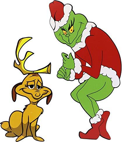Amazon Com Grinch Stealing Christmas Lights Facing Left Max Garden Outdoor Grinch Stole Christmas Christmas Decor Diy Grinch