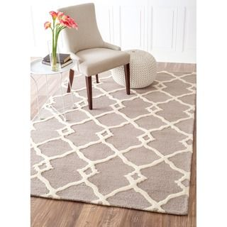 nuLOOM Handmade Moroccan Trellis Wool Rug - Overstock Shopping - Great Deals on Nuloom 7x9 - 10x14 Rugs