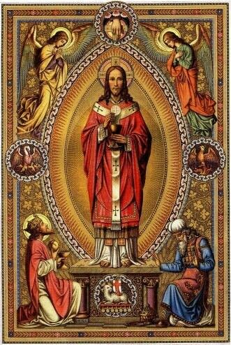 Nuestro Señor Jesucristo Sumo y Eterno Sacerdote #Jesús | Sacerdote,  Imágenes religiosas, Cordero de dios