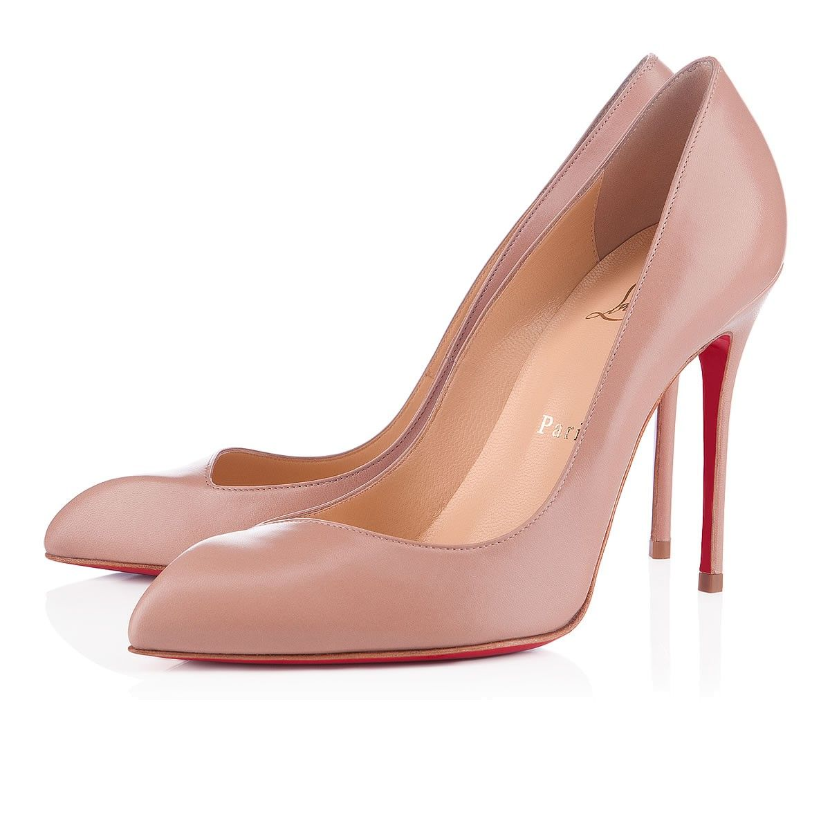 Why the shiny nude pump must die