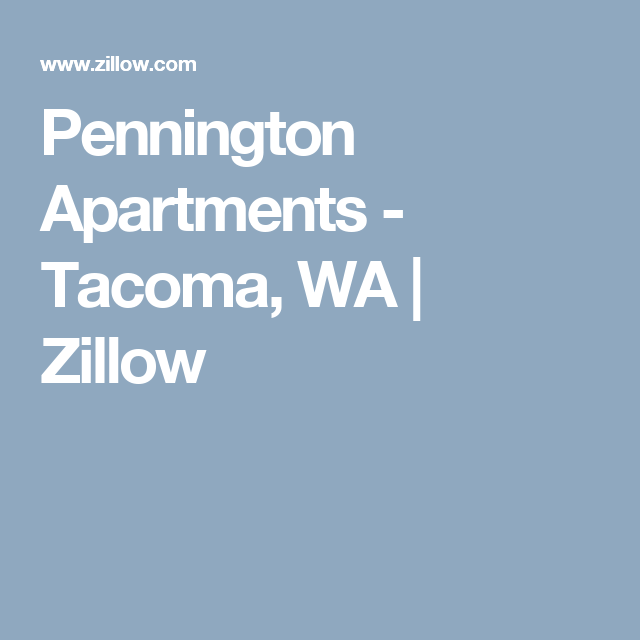 Zillow Rentals Apartments: Pennington Apartments - Tacoma, WA