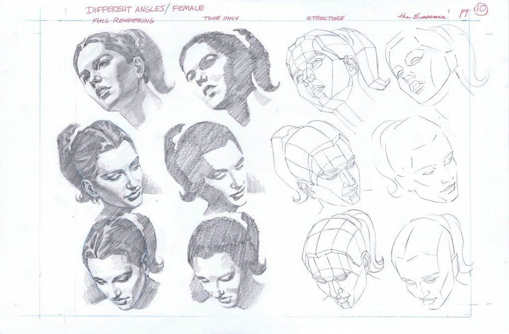 3d total beginners guide to comic art page 10 drawings