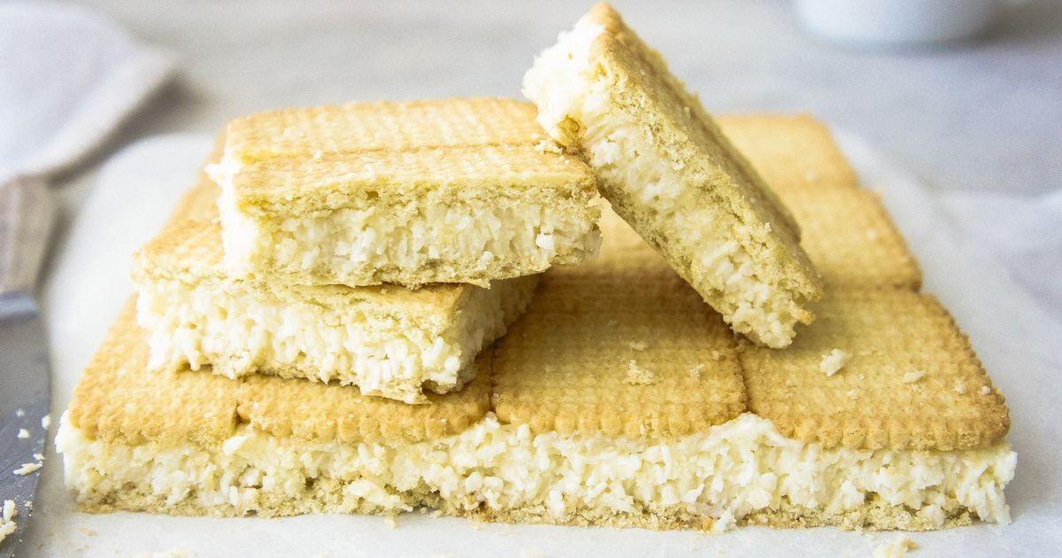 Condensed milk slice in 2020 milk recipes baking