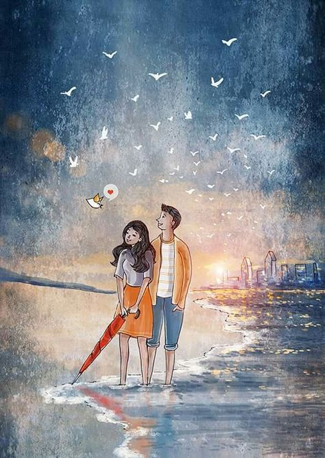 Best Painting Love Couple Romances Dreams 53 Ideas Love Cartoon Couple Painting Love Couple Animated Love Images Just go to the artsy section of our photo editor, then select one of. pinterest