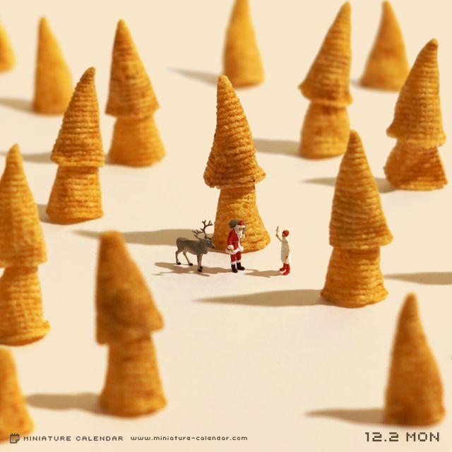 Un encantador mundo en miniatura creado por un artista japonés (FOTOS) | Comer, Viajar, Amar