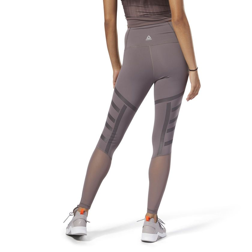 15af818bd6 Reebok Cardio High-Rise Tight - Grey