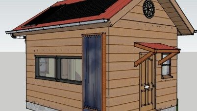 192 Sq Ft Off Grid Tiny Cabin Design A Frame Cabin Tiny Cabins