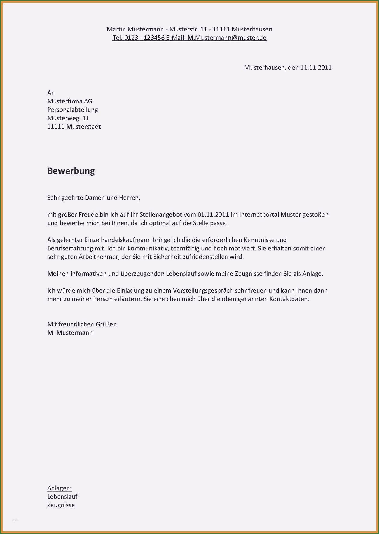 6 Angenehm Bewerbung Betriebselektriker Vorlage Bewerbung Schreiben Bewerbung Anschreiben Muster Bewerbungsschreiben