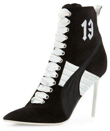 59650818363 Fenty Puma by Rihanna Suede 105mm Sneaker Bootie