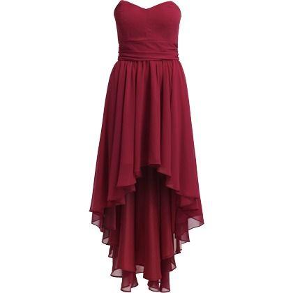 tolles rotes kleid von swing der vokuhila schnitt verleiht dem eleganten kleid einen. Black Bedroom Furniture Sets. Home Design Ideas
