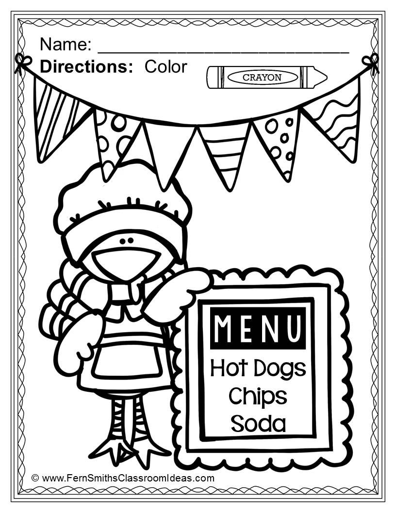Thanksgiving Coloring Pages 48