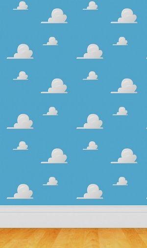 2018 年の かわいい雲のパターンのiphone壁紙 壁紙キングダム スマホ
