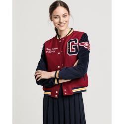Photo of Gant Cord Gant Varsity Jacket (Red) GantGant