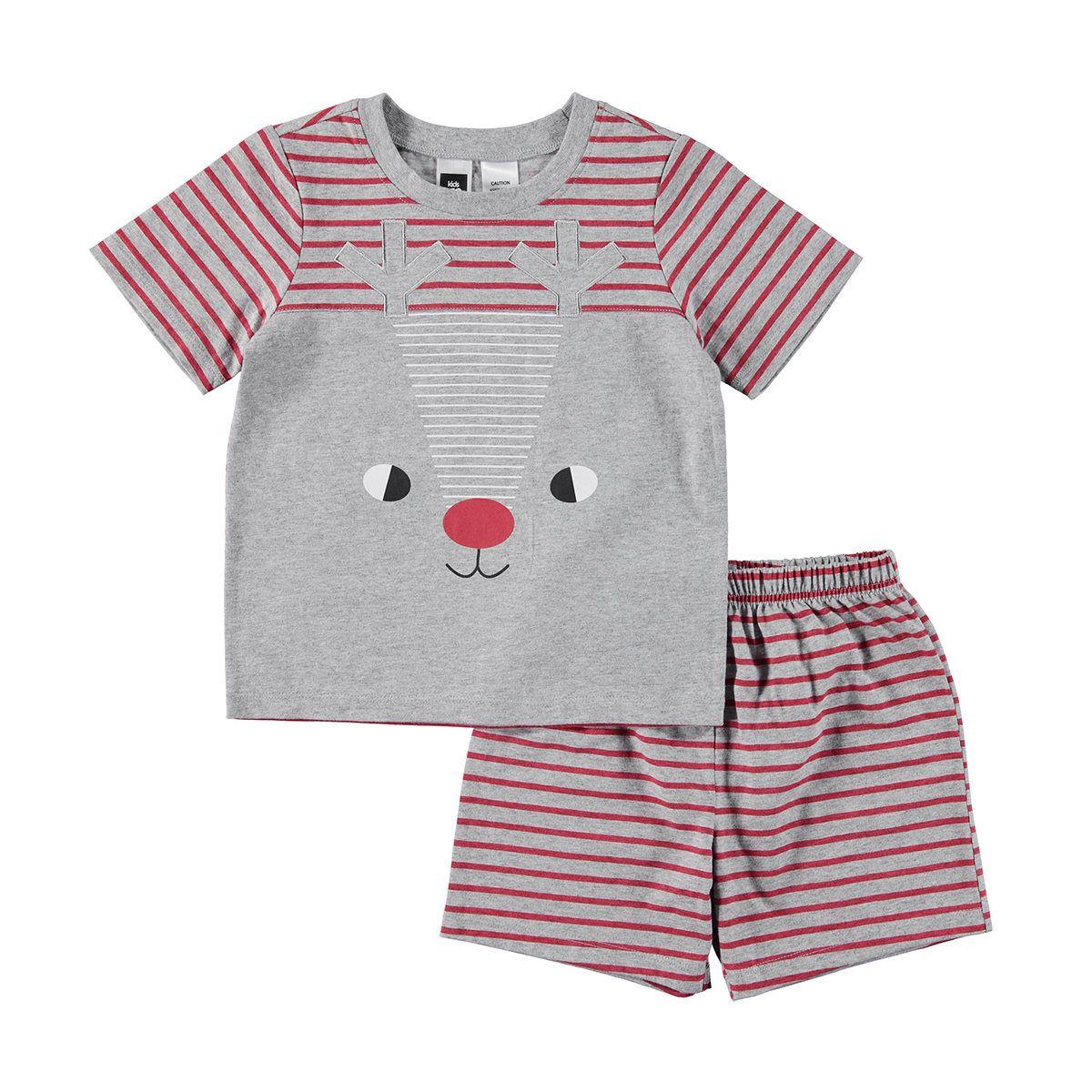 Novelty Pyjama Set | Kmart | Pajama set, Striped top, Fashion