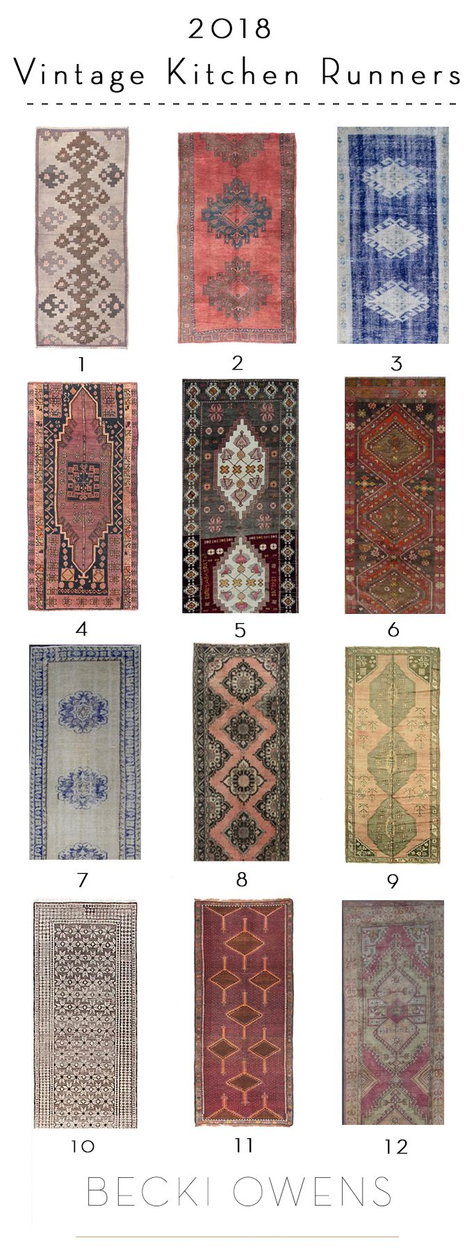 12 Beautiful Vintage Kitchen Runnersbecki Owens Kitchen Runner Kitchen Rugs Sink Vintage Rugs