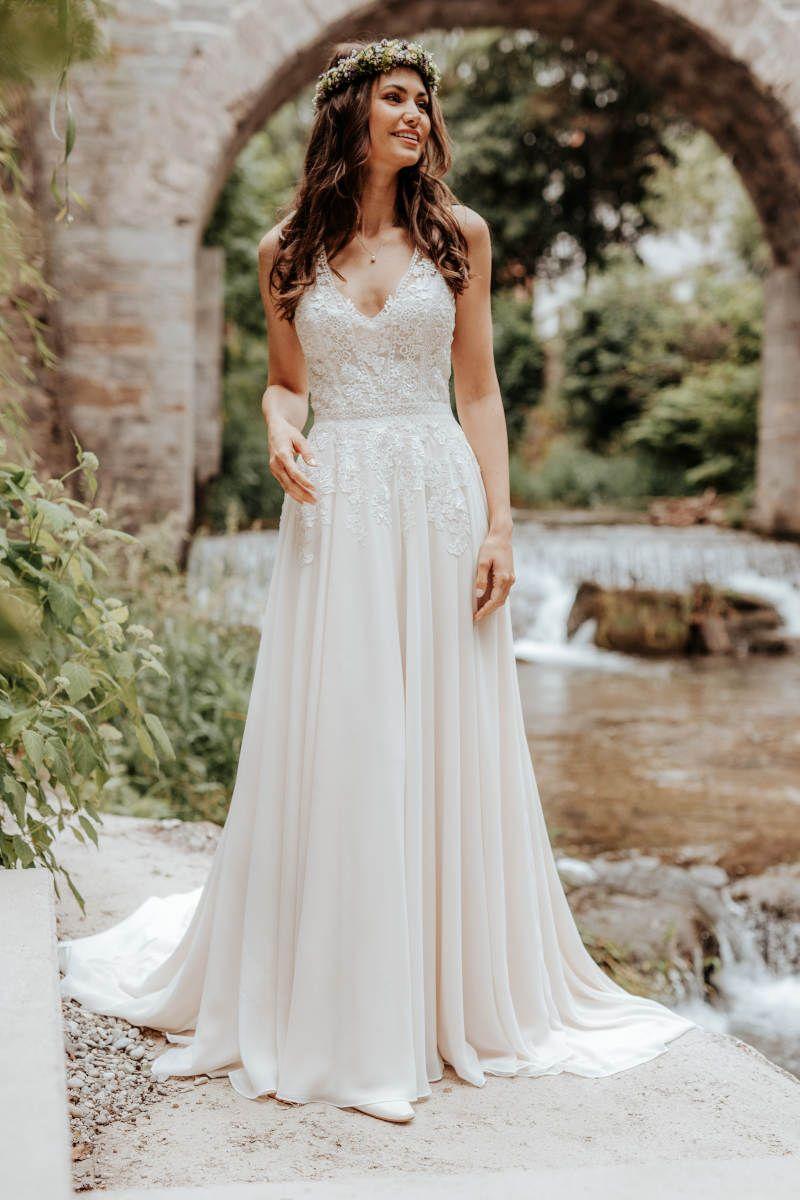 crusz Brautkleider in 20  Braut, Kleid hochzeit, Brautkleid