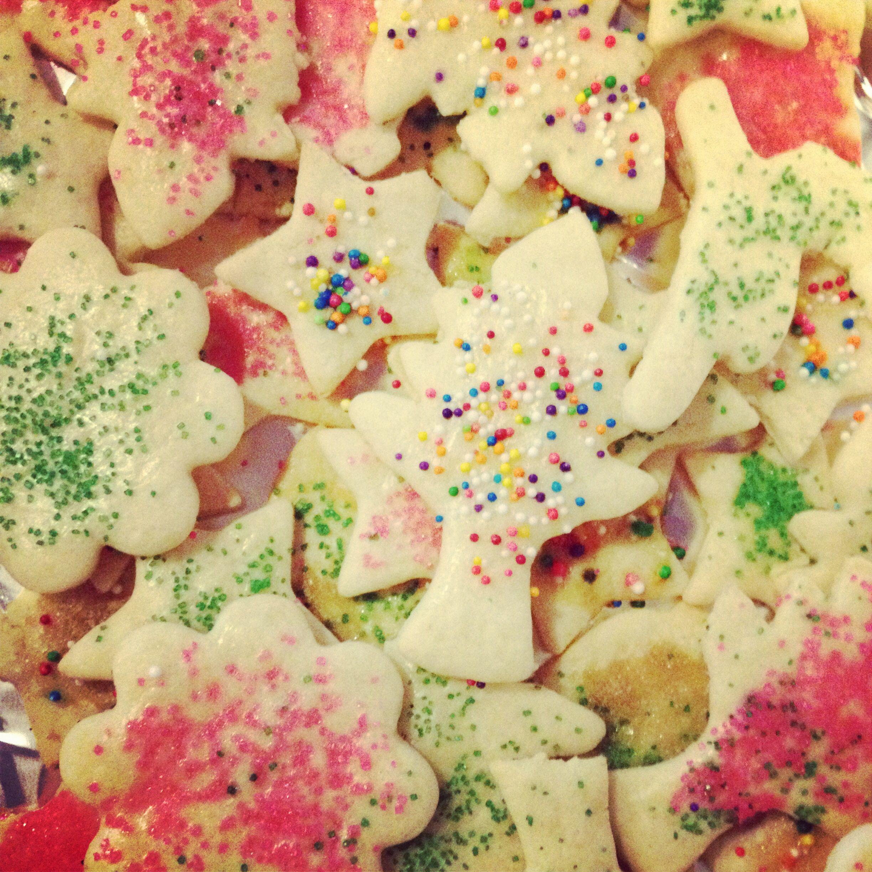 Sand tart cookies. Pennsylvania Dutch cookies. Crispy thin cookies ...