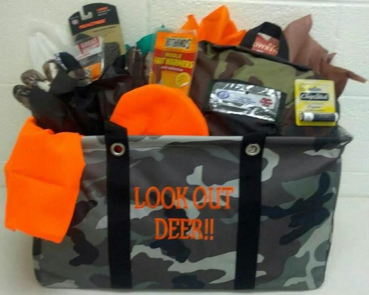 Large Utility Tote for Deer Hunters