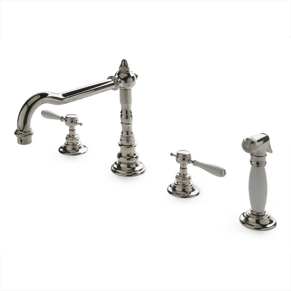 Waterworks Julia Kitchen Faucet in Burnished Nickel   Waterworks ...