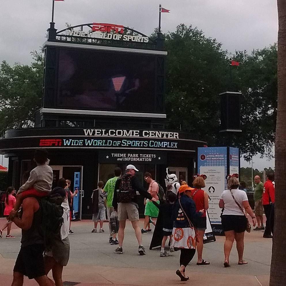 starwars expo( Disney's ESPN Wide World of Sports