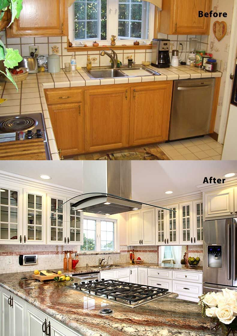 Pin On Simple Kitchen Remodeling