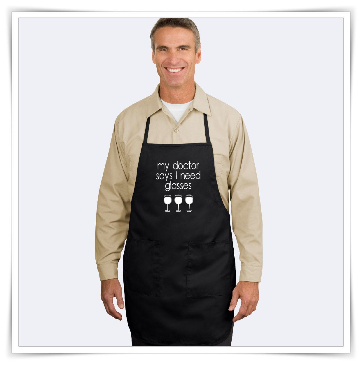 Beware Crazy Baking Boy Chefs Apron Funny Baker Cake Cooking Baking