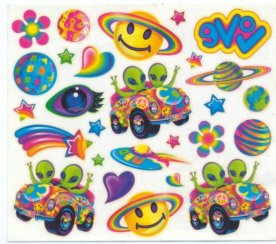 Pin By Iwa On Mray Lisa Frank Stickers Cute Stickers Aesthetic Stickers