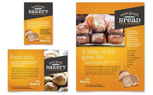 Artisan Bakery Flyer U0026 Ad