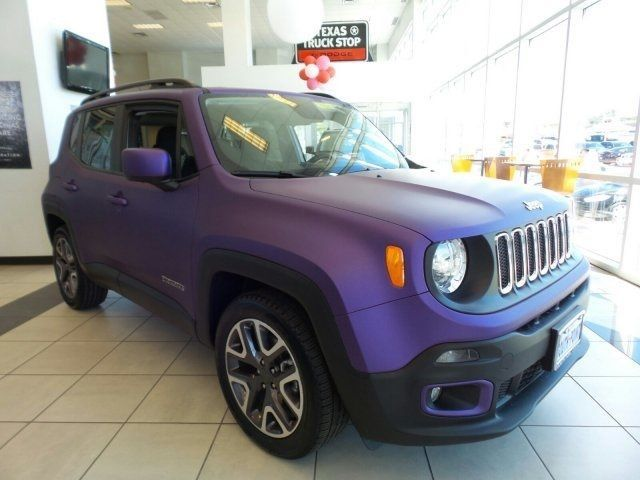 Jeep Renegade Jeep Renegade Jeep Purple Jeep