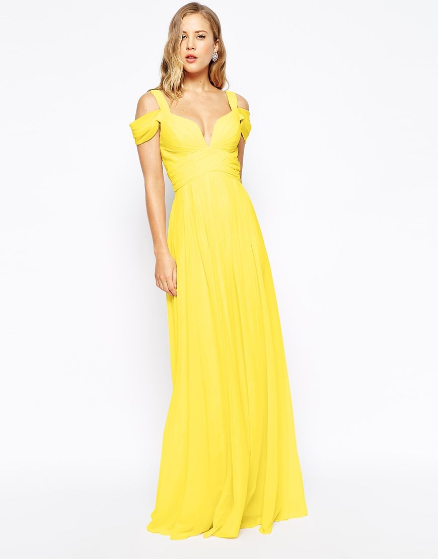 Image of forever unique sweetheart maxi dress with off shoulder