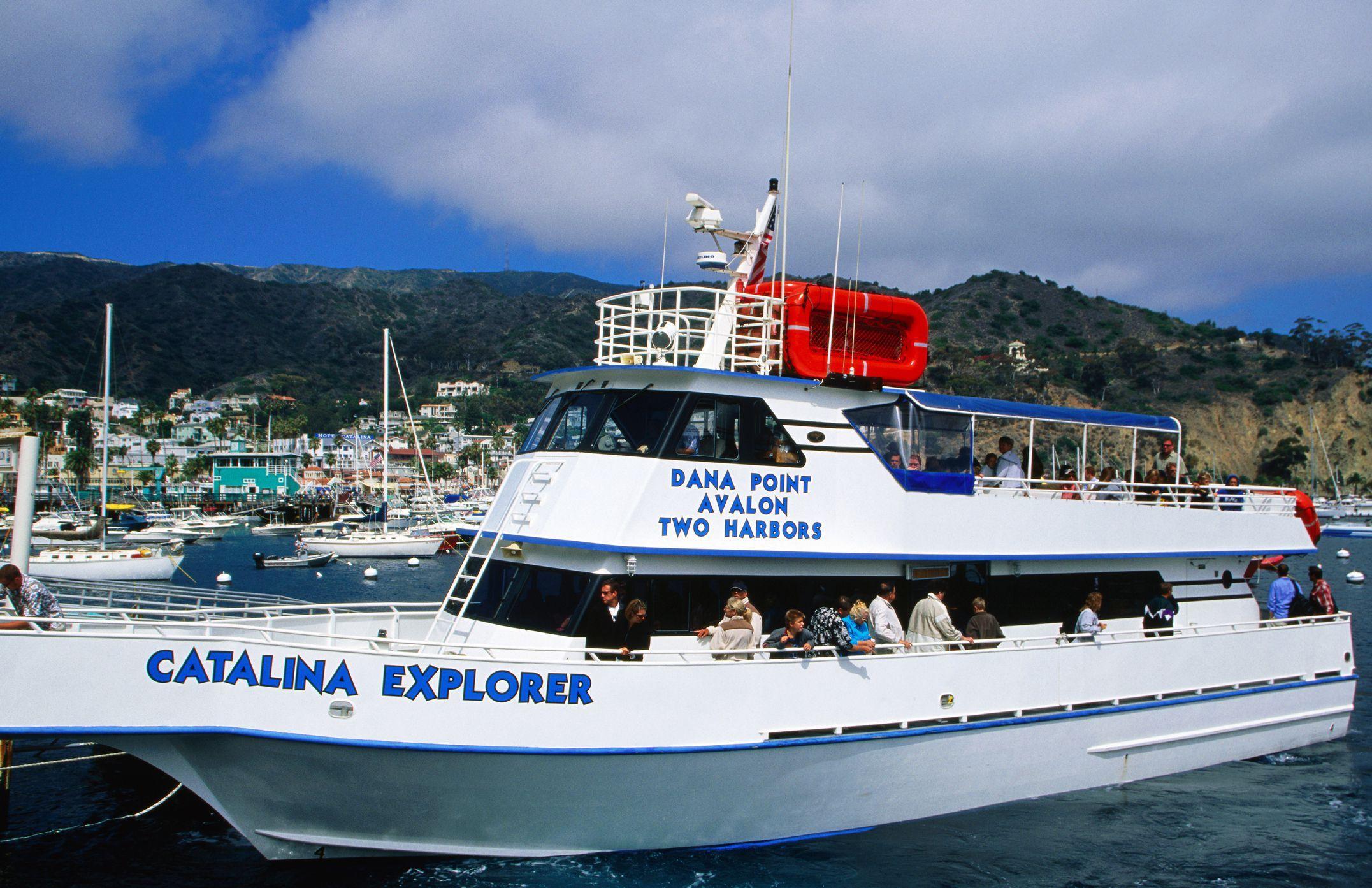 Take The Ferry To Catalina Island Catalina Island Catalina Two