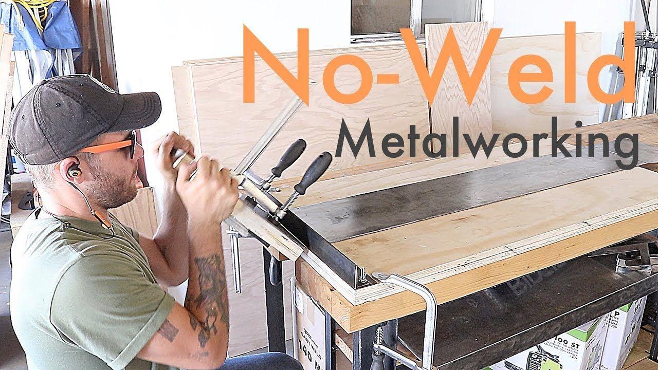 Diy noweld metal bending jig modern builds metal