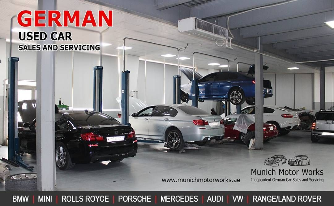 Munich motor works provides repairing services for any kind