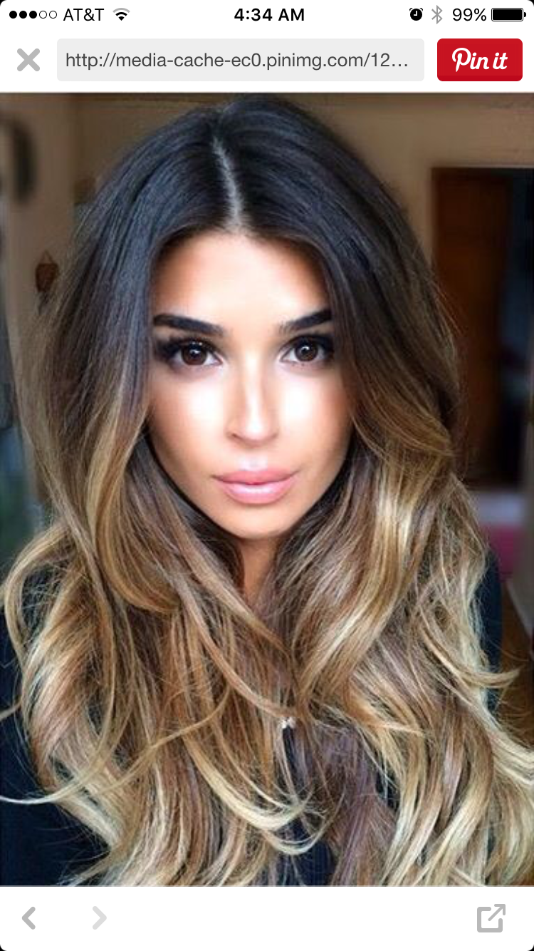 Pin by saly on balayage ombré pinterest hair coloring hair