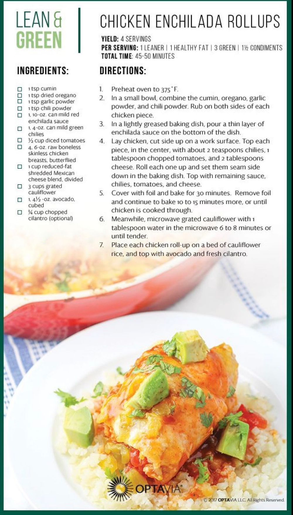 Optavia Lean And Green Recipes Pdf Infoupdate Org In 2020 Lean Protein Meals Lean And Green Meals Lean Meals