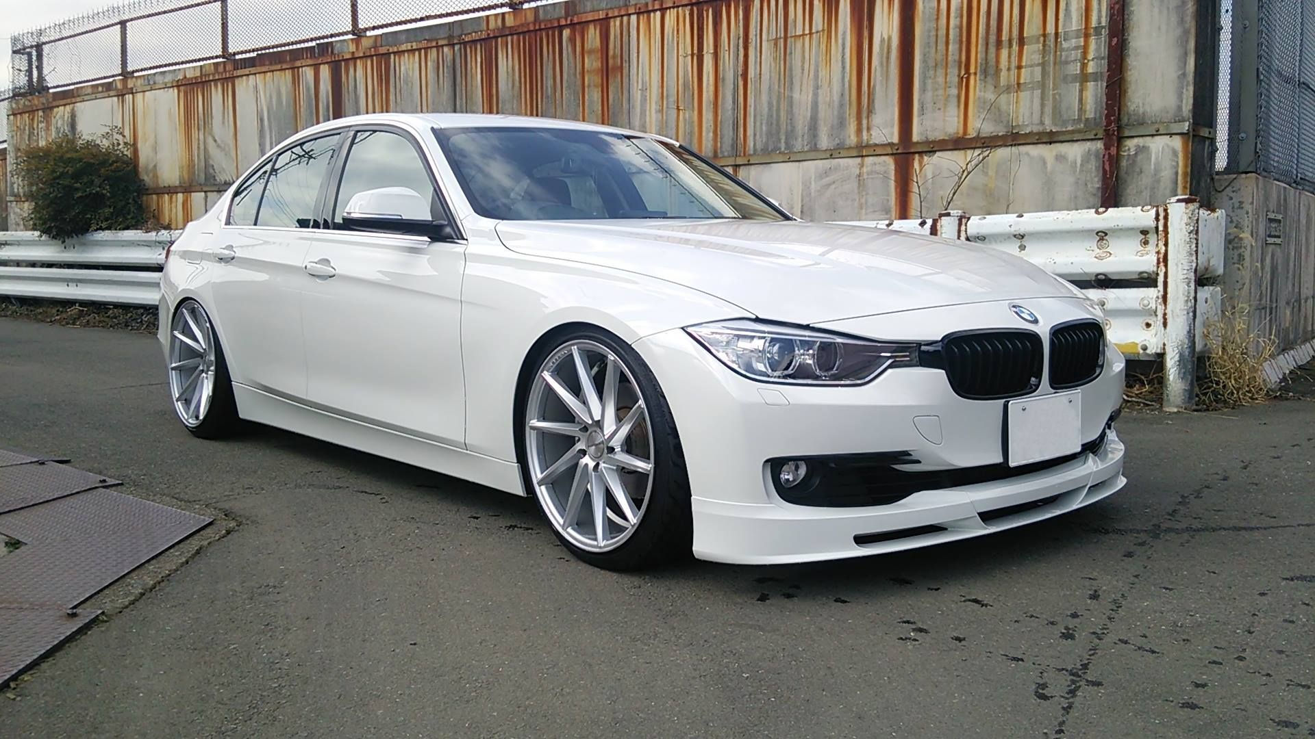 bmw f30 335i sedan white angel vossen wheels. Black Bedroom Furniture Sets. Home Design Ideas