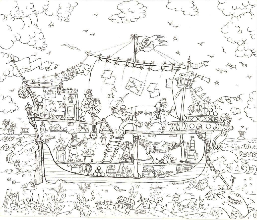 PIRATE SHIP V rvi ise postrid