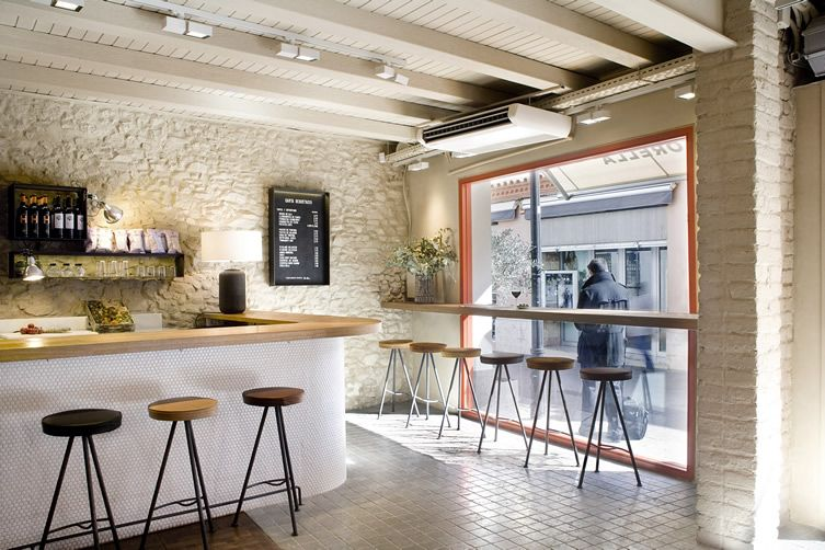 Designers Strip Away The Mystery At Contemporary Butchers In Sant Cugat Del Vallès Bistro Interior Cafe Interior Meat Shop