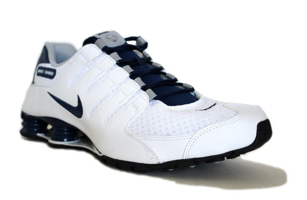 best loved 80041 3a668 Nike Men's Shox NZ SE Running Shoes 833579 104 White/Coastal ...
