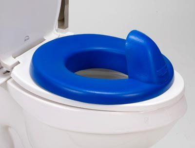 Padded Toilet Seat Reducer Ring provides comfort and nonslip ...