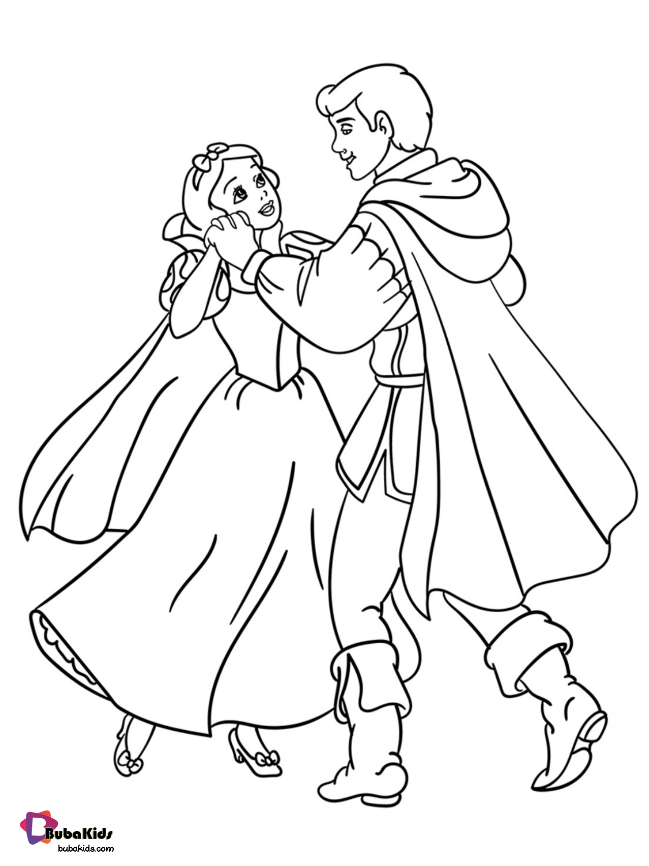 Free Download And Printable Snow White And Prince Charming Coloring Page Collection Of Ca Snow White Coloring Pages Princess Coloring Pages Princess Coloring